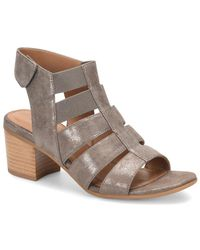 Comfortiva - Alexis Heeled Suede Sandal - Lyst
