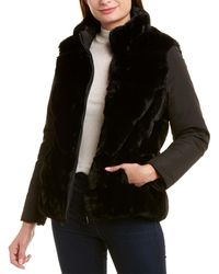Via Spiga Reversible Coat - Black
