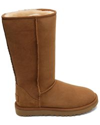 UGG Boots Flat Classic Tall Ii - Brown