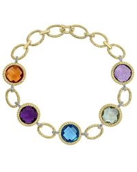 Effy - 14k 21.89 Ct. Tw. Diamond & Gemstone Bracelet - Lyst