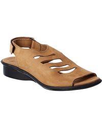 Arche Saorna Leather Sandal - Brown