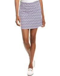 J.McLaughlin Palm Spring Skirt - Blue