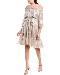 Max & Moi A-line Dress - Metallic