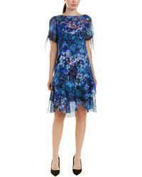 Elie Tahari Maurine Dress - Blue