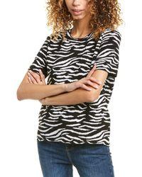 Premise Studio Zebra Sweater - Black