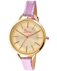 Boum Women's Champagne Watch - Metallic