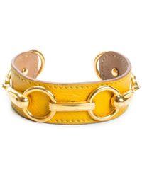 Hermès 18k Leather Bracelet - Multicolour