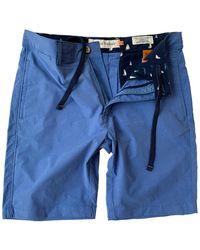 Tailor Vintage Stretch Hybrid Short - Blue