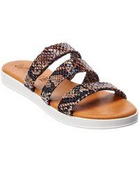 Seychelles Walking On Air Leather Sandal - Brown