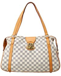 Louis Vuitton Damier Azur Canvas Stresa Pm - White
