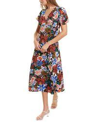 Donna Morgan Lainey Midi Dress - Blue