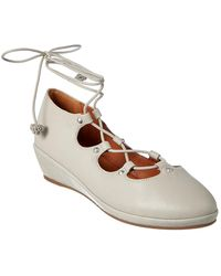 Gentle Souls By Nita Leather Wedge - Multicolour
