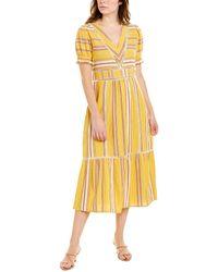 d.RA Delfina Midi Dress - Yellow