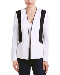 Nine West - Stretch Crepe Colorblock Jacket - Lyst