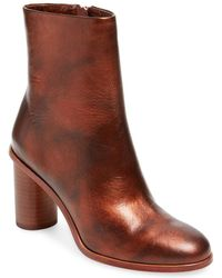 Pour La Victoire - Iris Leather High Heel Bootie - Lyst