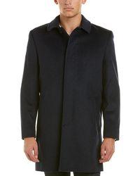 Hart Schaffner Marx | Turner Wool-blend Coat | Lyst