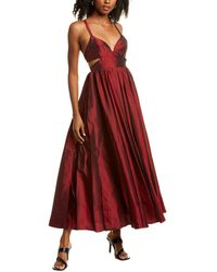 Fame & Partners Queen Of Peace Gown - Red