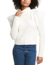 Line & Dot Kaylee Sweater - White
