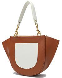 Tiffany & Fred Leather Shoulder Bag - Brown