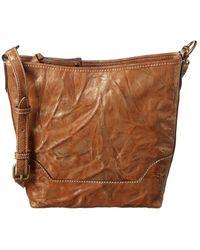 Frye Melissa Small Metallic Leather Hobo Bag