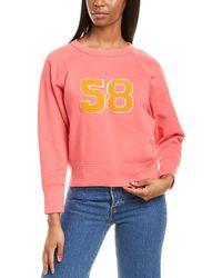 J.Crew Varsity Sweatshirt - Orange
