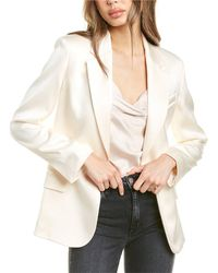 Theory Fitted Blazer - White