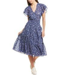 Parker Bessie A-line Dress - Blue