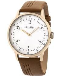 Simplify Unisex The 5700 Watch - Multicolour