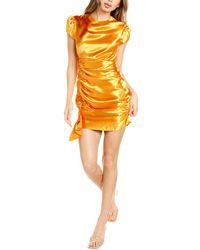 Cinq À Sept Natalia Midi Dress - Orange