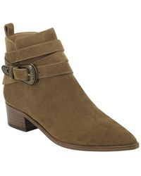 Marc Fisher Yandi Concho Bootie - Brown