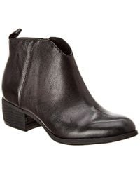 Söfft Coleta Leather Bootie - Black