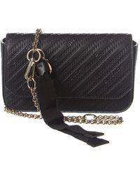 Givenchy Bond Leather Chain Crossbody - Black