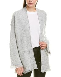 Michael Stars Cable-knit Cardigan - Gray