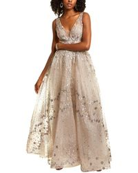 Mac Duggal Lace Gown - Natural