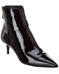 Alexandre Birman Kitte 50 Patent Boot - Black