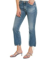 AG Jeans Jodi 18 Years Ambrosial Crop - Blue