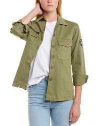 Monrow Vintage Military Jacket - Green