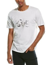 Saint Laurent Love T-shirt - White