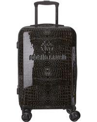 Roberto Cavalli Cavalli Hardside Spinner Carryon - Black