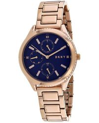 DKNY Women's Woodhaven Watch - Blue