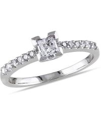 Rina Limor 14k 0.50 Ct. Tw. Diamond Engagement Ring - Metallic