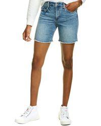 Joe's Jeans Joes Jeans Frayed Santa Cruz Bermuda Short - Blue