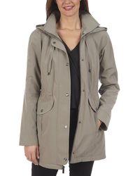 Rachel Roy Fleet Street Trench Coat - Grey