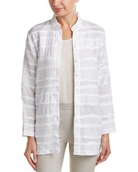 W by Worth - Linen-blend Jacket - Lyst