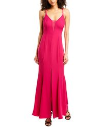 BCBGMAXAZRIA Eve Maxi Dress - Purple