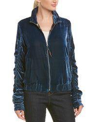 Robert Graham Silk-blend Jacket - Blue