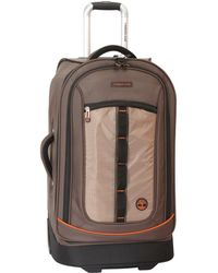 "Timberland Jay Peak 26"" Rolling Suitcase - Brown"