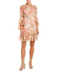 Eliza J Shift Dress - Pink
