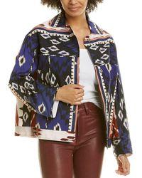Forte Forte Encens Chic Poplin Jacket - Blue