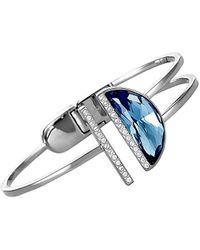 Swarovski Crystal Plated Bracelet - Blue